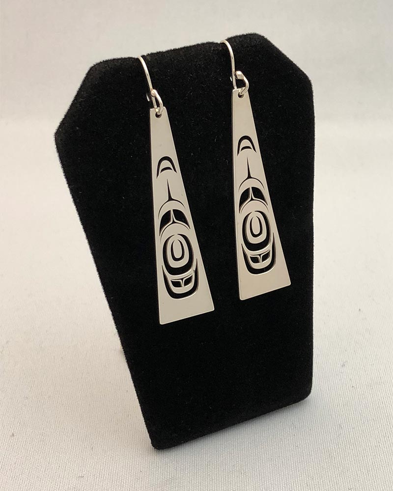 Abstract Earrings<br />Trevor Angus