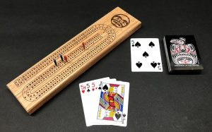 Moon Cribbage Board