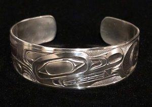 Wolf Bracelet by Ernest Swanson