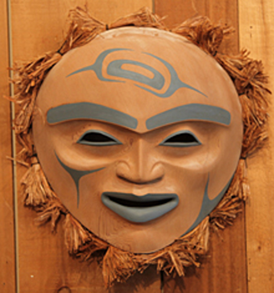 Moon Mask<br />Yul Baker<br /><span class='sold'>SOLD</span>