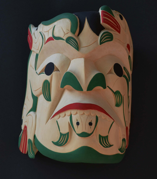 Spirit of Frog Mask<br />Tyrone Joseph<br /><span class='sold'>SOLD</span>