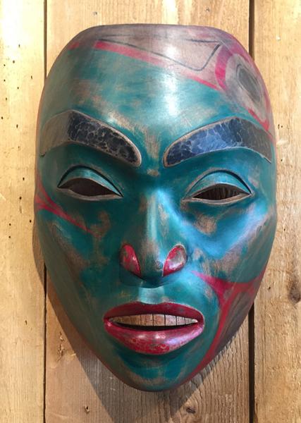 Tsimshian Portrait Mask<br />Simon Reece