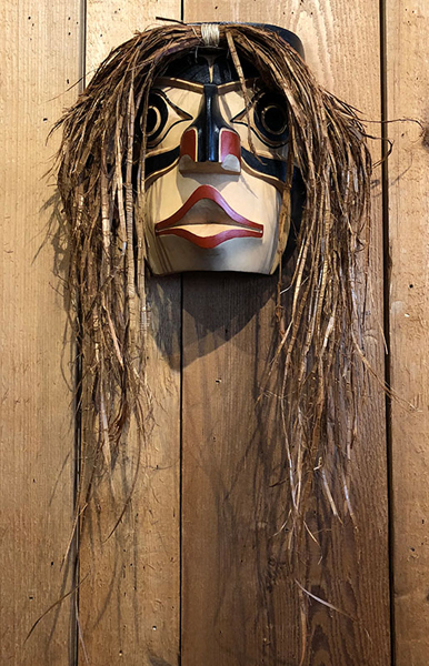 Wild Woman Mask<br />Noel Brown