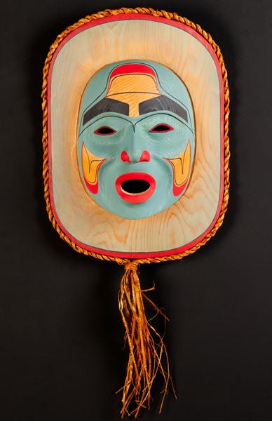 Shaman Mask<br />Daniel Morsette<br /><span class='sold'>SOLD</span>