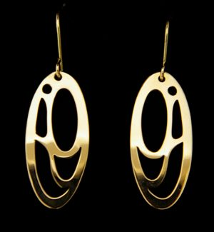 Earrings by Valerie Malesku