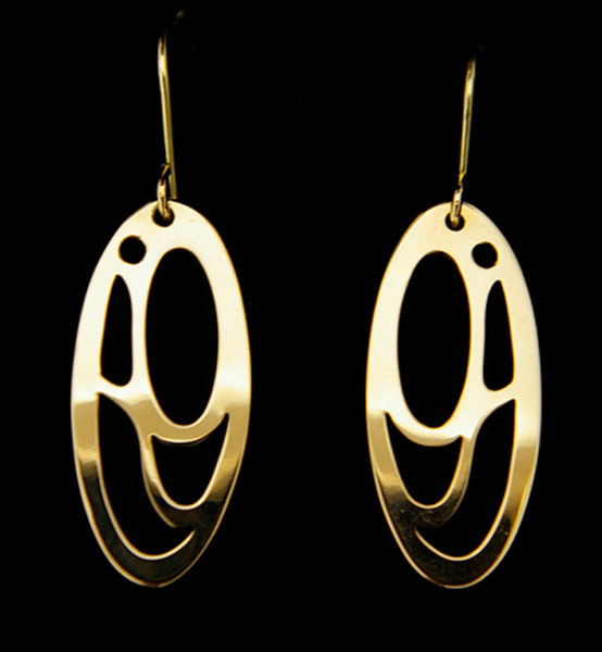 Earrings<br />Valerie Malesku