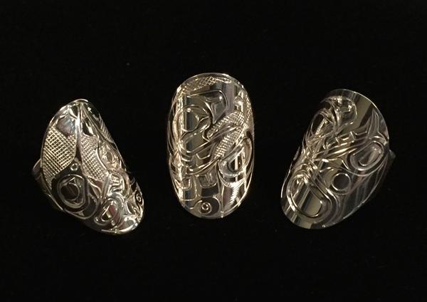 Silver Plaque Rings<br /></noscript>Ralph Burgess
