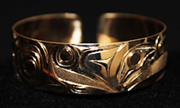 Gold Bracelet<br />Jim McGuire