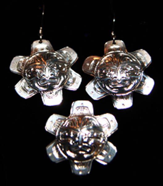Earrings & Pendant<br />Harold Alfred