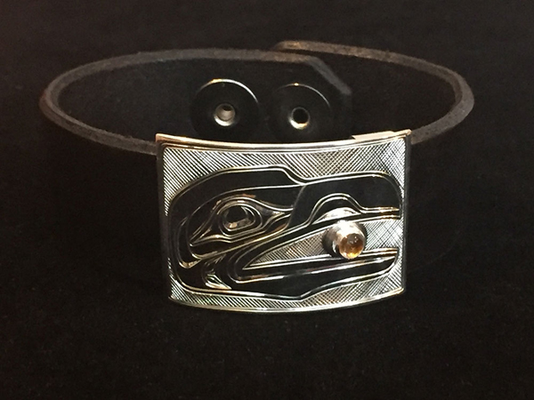 Leather Bracelet<br />Chris Cook