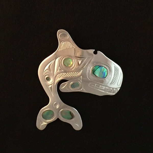 Whale pendant<br />Barry Wilson