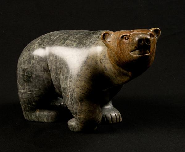 Panting Bear<br />Rodney Kolausok<br /><span class='sold'>SOLD</span>