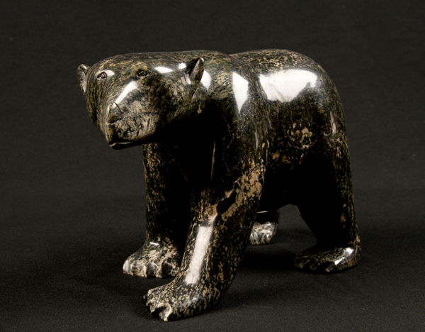 Walking Bear<br />Mathew Tunnillie<br /><span class='sold'>SOLD</span>