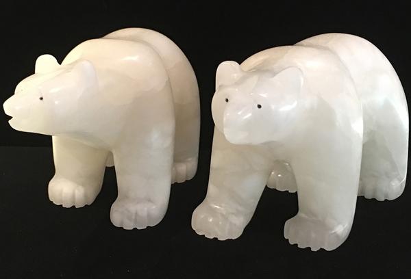 Alabaster Polar Bears<br />Howard Moose