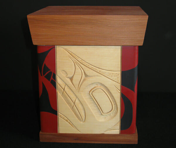 Wolf Bentwood Box<br />James Michels<br /><span class='sold'>SOLD</span>