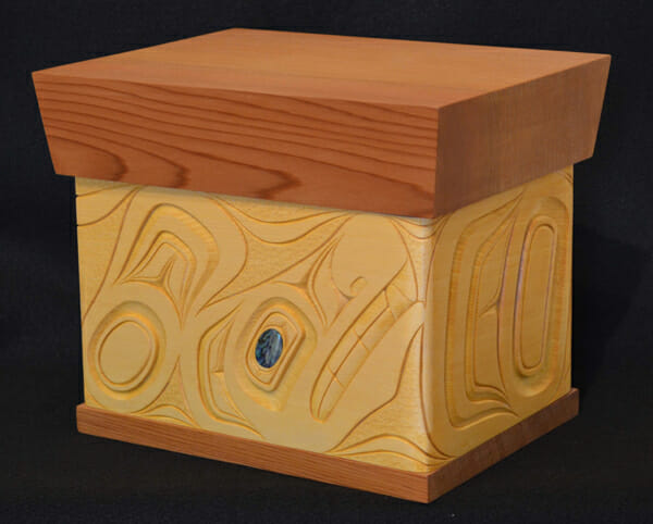 Whale Bentwood Chest<br /></noscript>James Michels<br /><span class='sold'>SOLD</span>