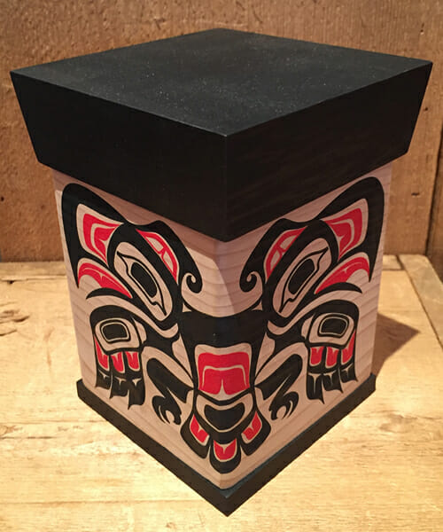 Silk Screened Thunderbird Box<br />James Michels