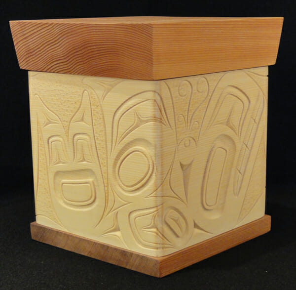 Killer Whale Box<br />James Michels<br /><span class='sold'>SOLD</span>