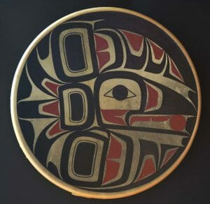 Raven Drum by Wilfred Sampson