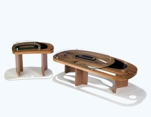 Ovoid Tables by Sabina Hill