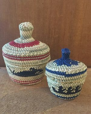 Baskets by Dorothy Shephard