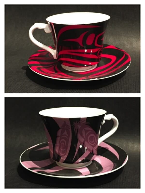 Tea Cups & Saucers