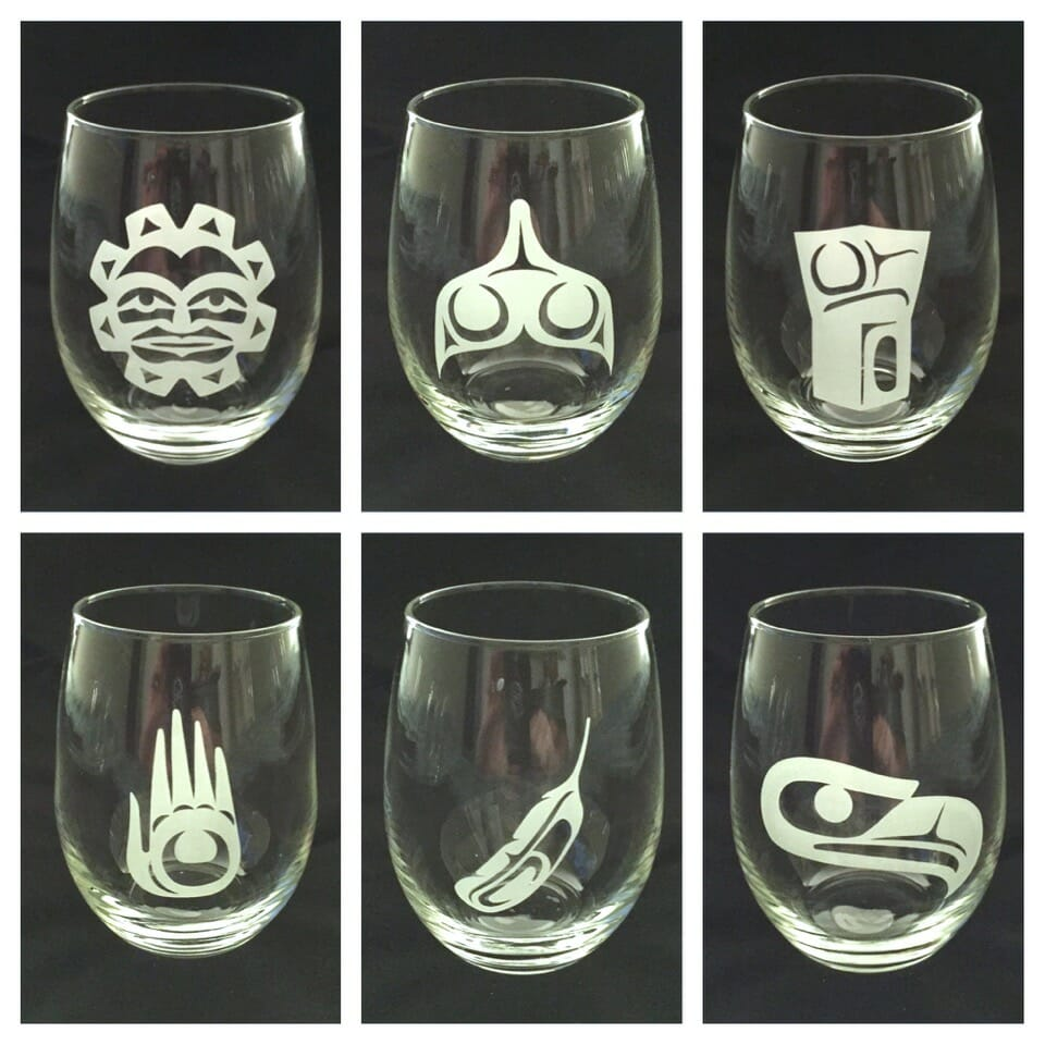 Stemless Wine Glasses Designs by Klatle-bhi