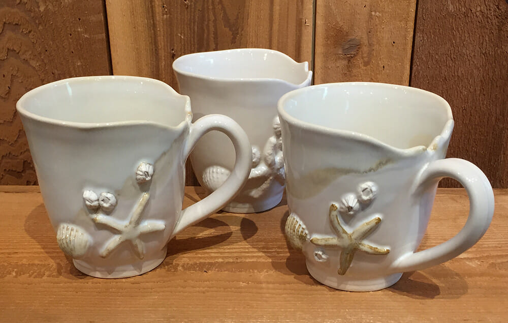 Hand made Ceramic Mugs by Mussels & More