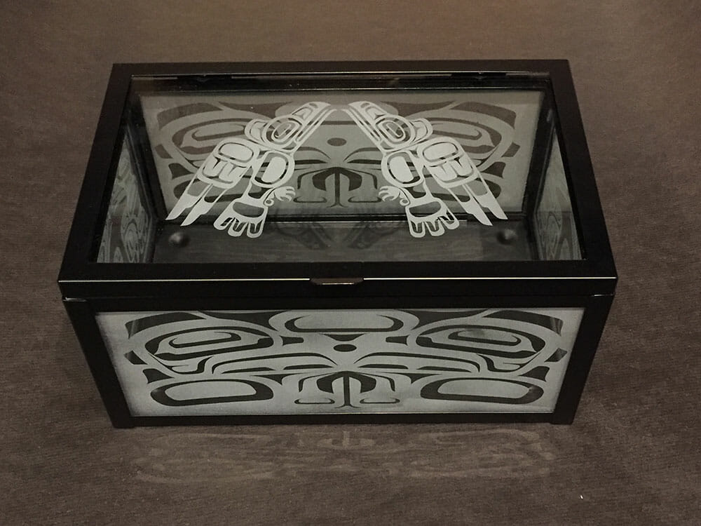Eagle Treasure Box by Michael Forbes