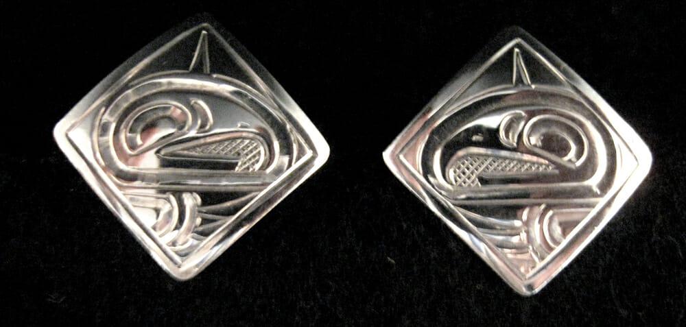 Silver Cufflinks<br />Justin Rivard
