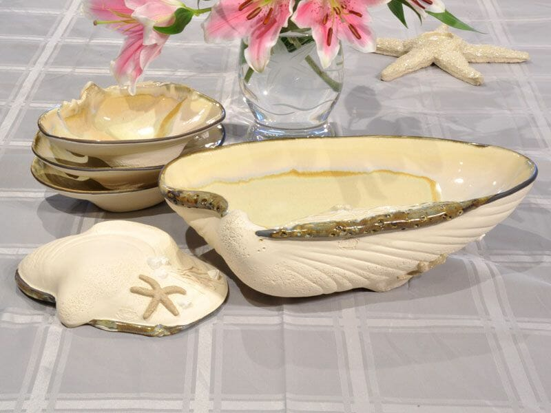 Clam Pottery Set by Mussels & More